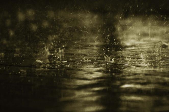 instantes de lluvia